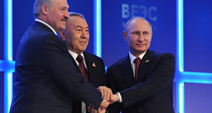 Minus Ukraine, will new Eurasian Union live up to Putin's dreams?