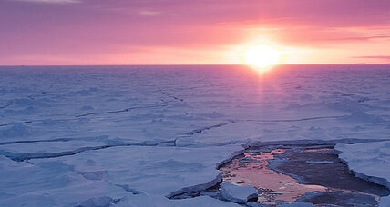 Big waves could help explain Antarctic ice mystery, say scientists