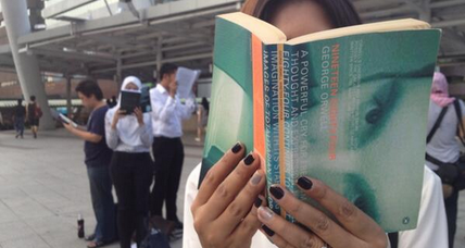 Orwell's '1984' suddenly fashionable on Bangkok streets