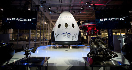SpaceX unveils manned spacecraft