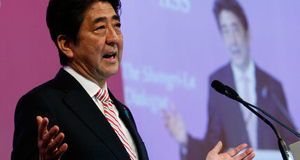 In jab at China, Japan's Abe promises stronger security role in Asia