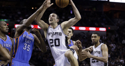 San Antonio Spurs defeat Oklahoma City Thunder in West finals