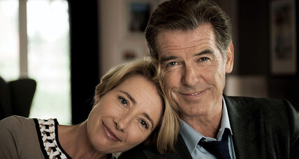 'The Love Punch' actress Emma Thompson makes the movie tolerable