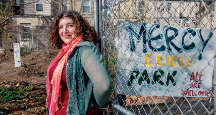 Amy Laura Cahn helps gardens blossom from weed-choked lots in Philadelphia