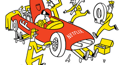 Why are Netflix streaming video speeds slowing down?