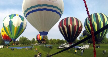 Balloon crash after fire over Virginia: Hot air flight serene but not without risk