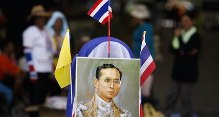 Want to unwind Thailand's coup? Look to palace politics (+video)