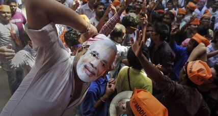 Modi takes India with eye-popping margin of victory