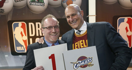 Cleveland Cavaliers score top pick in NBA Draft lottery. Now, will LeBron come back?