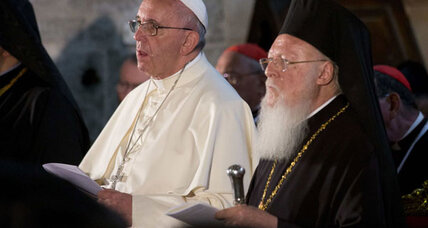 Pope, Patriarch pray together in Jerusalem