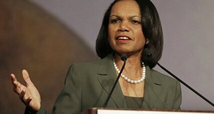 Condi Rice cancels Rutgers speech after Iraq War protest