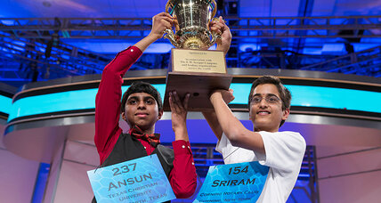 Two National Spelling Bee winners, first time in 52 years