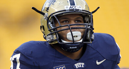 NFL Draft: Pitt's Donald happy to wait for call from home
