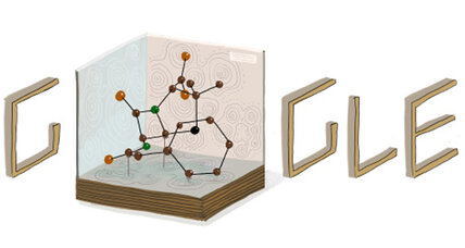 Dorothy Hodgkin honored with Google doodle for seeing the invisible (+video)