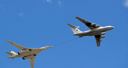 Russian bombers over Crimea part of post-Cold War military strategy