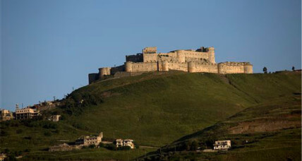 Crac des Chevaliers: Priceless castle battered by Syria's civil war