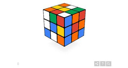 How to solve Google's Rubik's Cube doodle (+video)