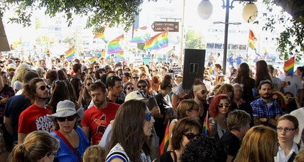 Thousands march in Cyprus's first gay pride parade, seeking equal rights
