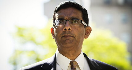 Pundit Dinesh D'Souza's illegal campaign contributions. What was he thinking?