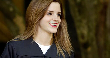 Emma Watson graduates: 'Harry Potter' star picks up Ivy League diploma