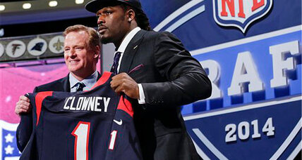NFL Draft 2014: Texans pick Clowney; Manziel to Browns