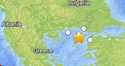 Greece earthquake: Magnitude 6.9 rattles Turkey too
