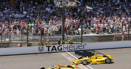 Indianapolis 500: Ryan Hunter-Reay takes checkered flag