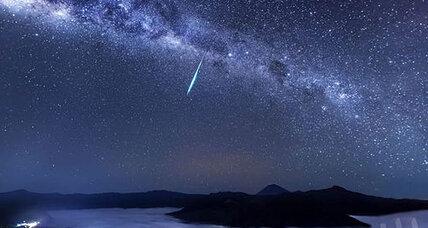 Meteor shower: Halley's Comet showers Earth early Tuesday