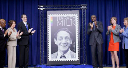 Harvey Milk stamp: Forever Stamp released on Milk's birthday