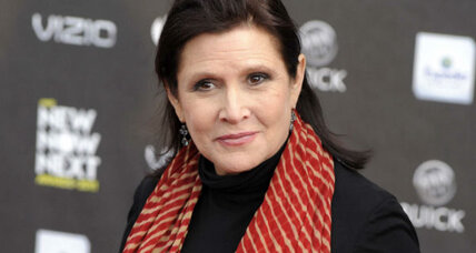 Carrie Fisher: Forget weight, it's wit and courage that make a leading woman