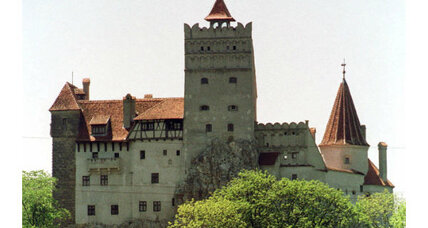 Dracula's Castle for sale: Your next family home? (+video)