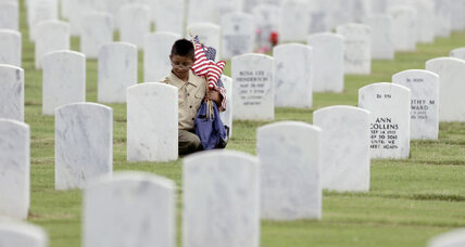 Memorial Day for a military spouse