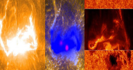 NASA captures spectacular images of humongous solar flare (+video)