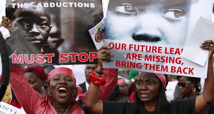 Nigeria's captive girls: Calls begin for US military to join rescue campaign