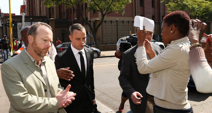 Reeva Steenkamp trial: Neighbor recalls Olympian's reaction after shooting