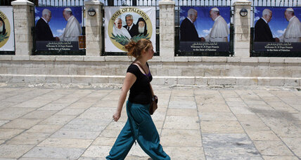 Rival Christian interests undermine Pope's message of Middle East peace
