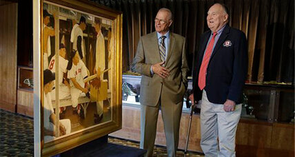 Rockwell painting displayed at Fenway is expected to draw $20-30 million
