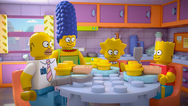 The Simpsons' go Lego for a new episode - CSMonitor.com