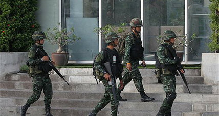 Thailand's army declares martial law: 'This is definitely not a coup'