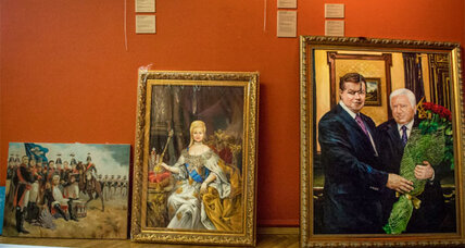 Ukraine: Art from former president's home on display at museum