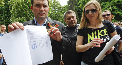 Ukrainian separatists hail self-rule snub to Kiev amid fraud claims (+video)