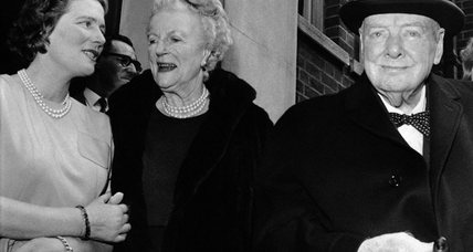 Mary Soames, daughter of Churchill, dies at 91