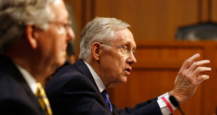 Reid, McConnell wrangle over amendment. Is it too hard to change Constitution?
