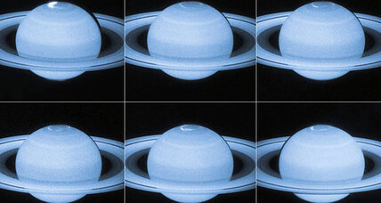 Hubble captures spectacular photos of 'northern lights' on Saturn
