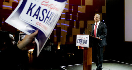 Real question in California governor's race: Can Neel Kashkari change GOP? (+video)