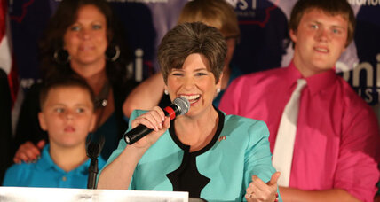 Joni Ernst, one-time hog castrator, is GOP's newest darling