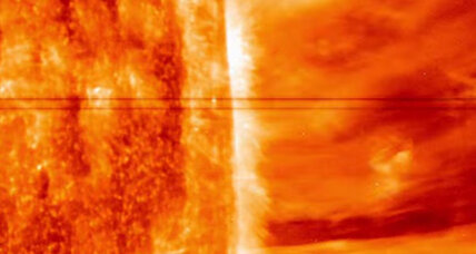 Solar close-up: In spectacular video, sun spews super-hot plasma
