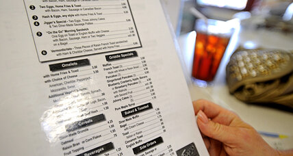Restaurant visits for breakfast are down one percent