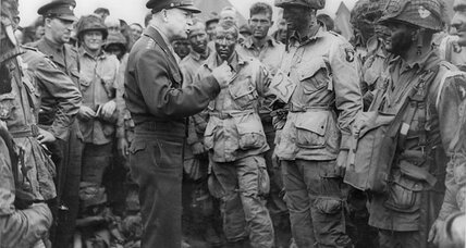 The day before D-Day, Dwight Eisenhower wrote this famous message