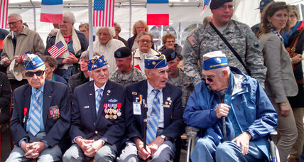 'Hon, I'm not getting any younger': US vets return to Normandy 70 years later